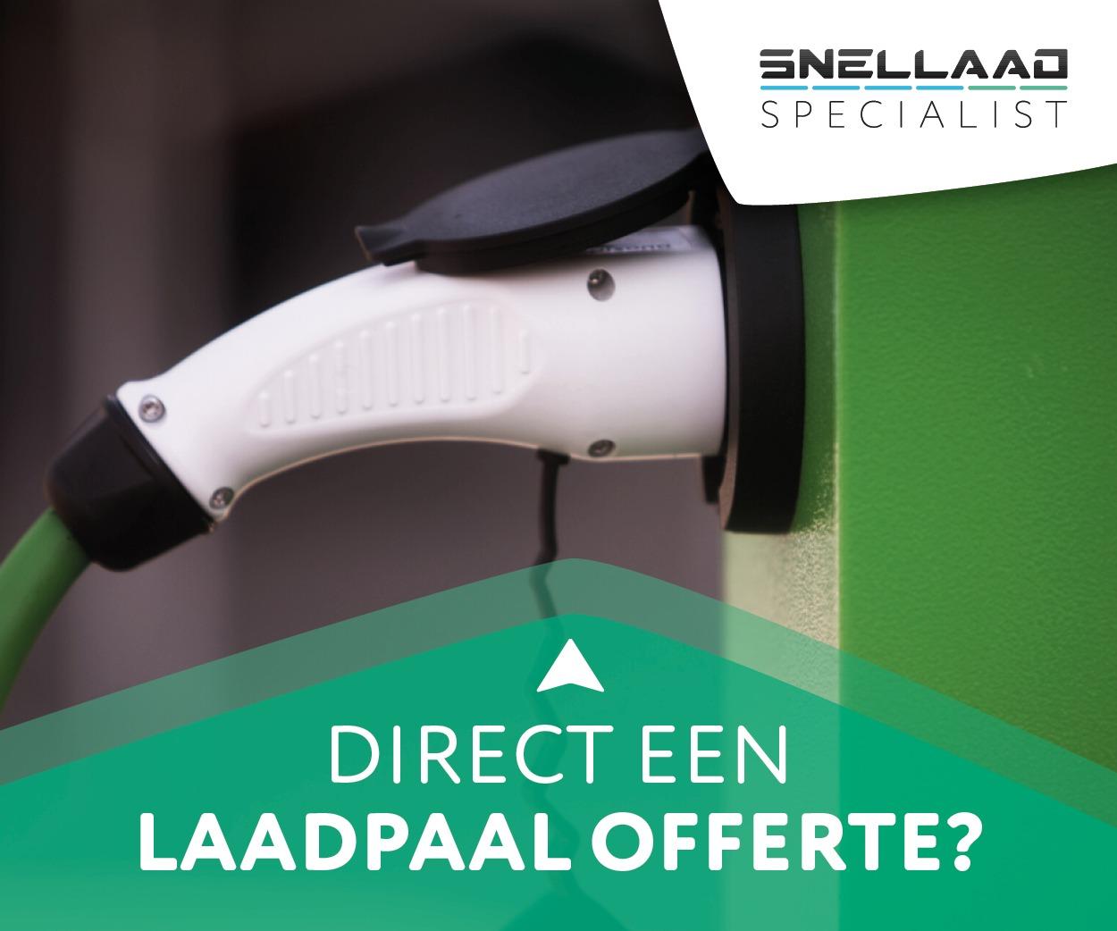 Laadpaal offerte. snellaadspecialist.nl